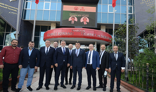 Btso Trabzon ve Rize'ye çıkarma yaptı
