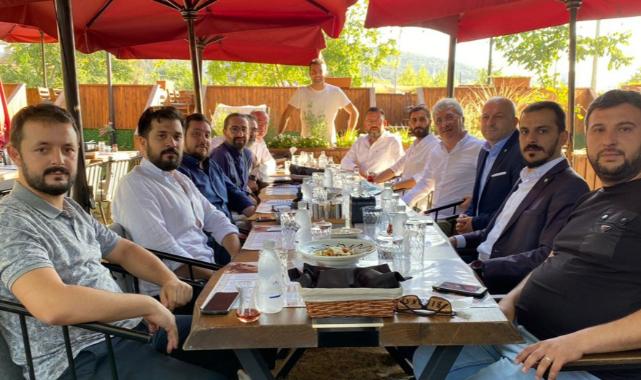 Bursaspor Adanaspor maçı öncesi dostluk yemeği