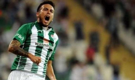 Cristobal Jorquera tekrar Bursaspor'da
