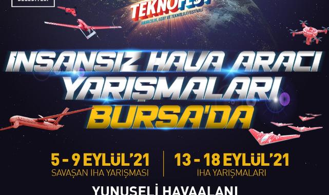 İha yarışması Yunuseli Havalimanı'nda gerçekleştirilecek.