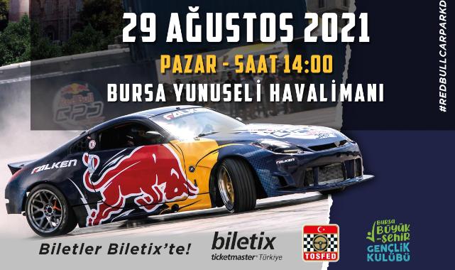 RedBull Car Park Drift 2021 Bursa'da