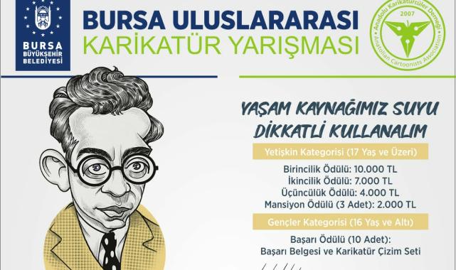Uluslararası Karikatür Yarışması düzenliyor